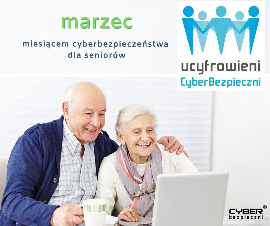 plakat Ucyfrowieni CyberBezpieczni